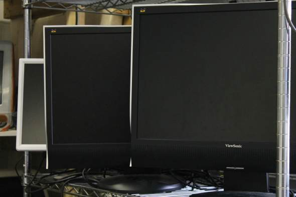 Pile of Monitors