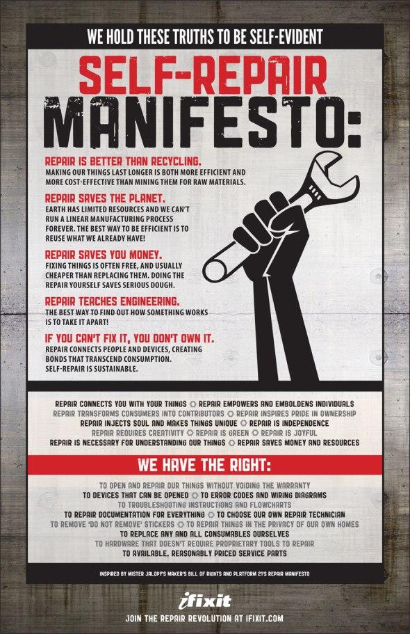 Image Soure: http://www.ifixit.com/Manifesto