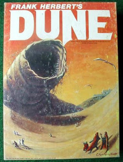 Cover art from Frank Herbert's Dune.