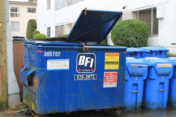 BFI Dumpster