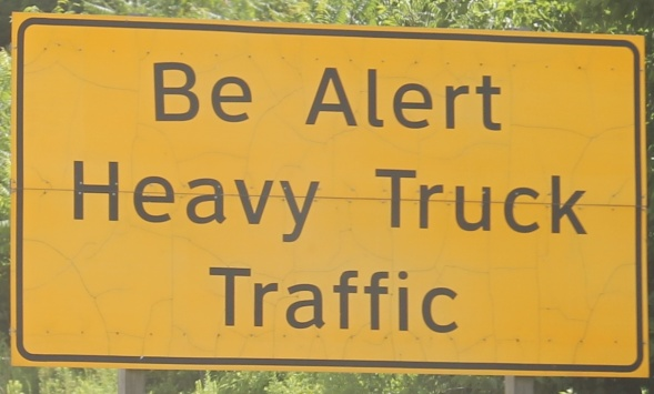 These signs speckle the I-78 medians.