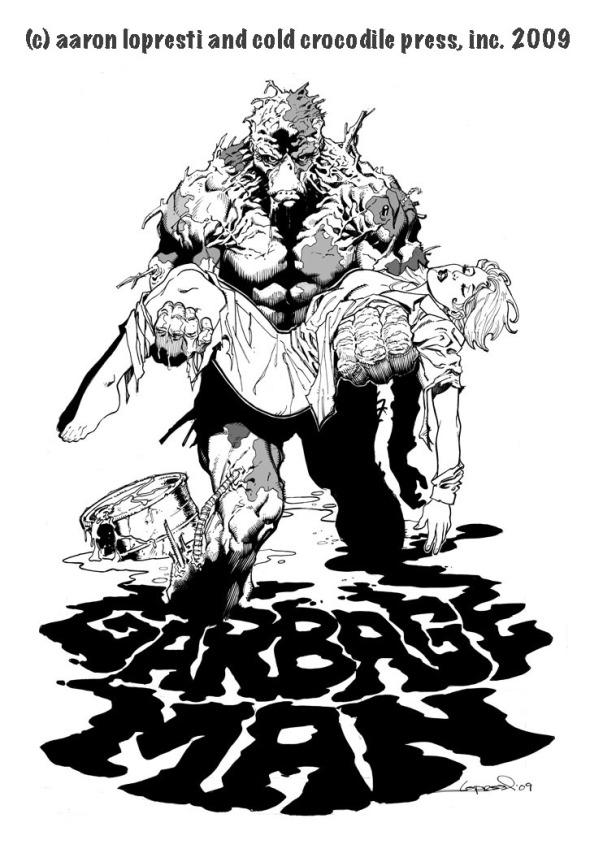 Garbage Man - Aaron Lopresti