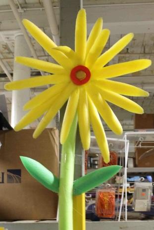 styrofoam flower 2