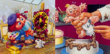 Vincent Van Gross and Decorating Deb