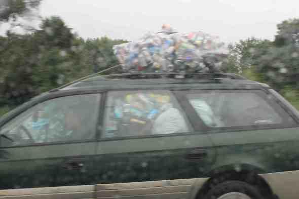 car w cans