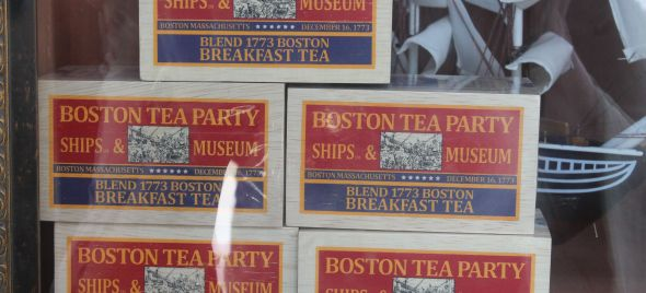 Do you think there would be a revolution, or anything other than a lawsuit, if this Boston Tea Party brand tea was wasted?