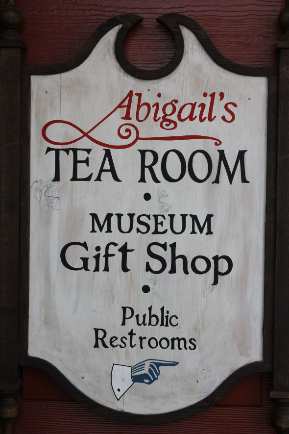 Tea Room, Gift Shop, and Public Restrooms