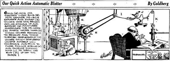 Rube Goldberg 10