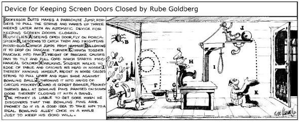 Rube Goldberg 4