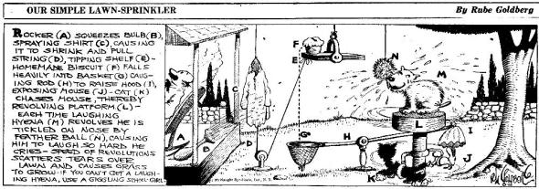 Rube Goldberg 6