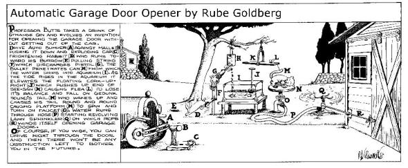 Rube Goldberg 7