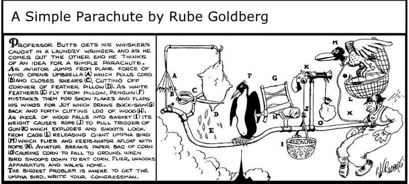 Rube Goldberg 9