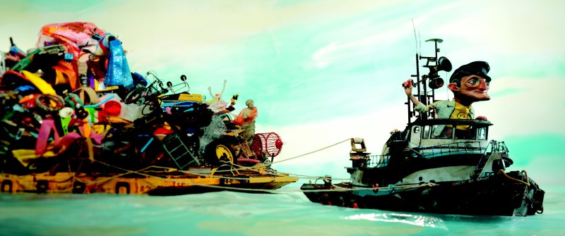 Here Comes the Garbage Barge - Red Nose Studios