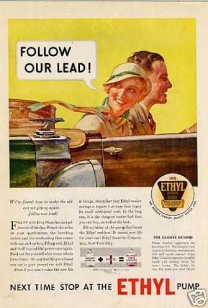Ethyl Gasoline Ad 2