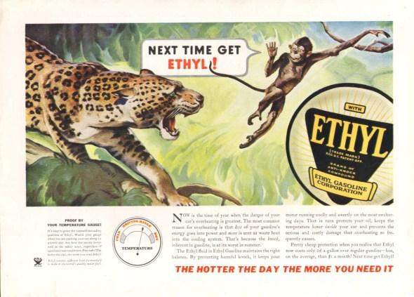 Ethyl Gasoline Ad
