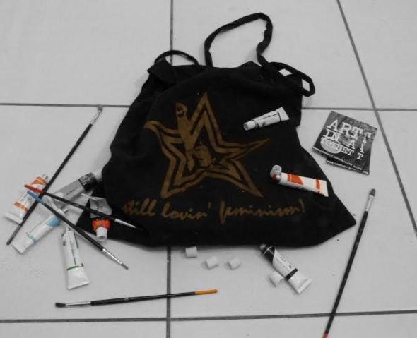 Stroilet Art Bag