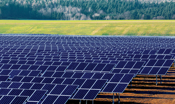 Solar farms: the environmental holy water. They seem capable of absolving any environmental ill.